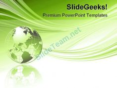 Global Abstract Beauty PowerPoint Template 1110 #PowerPoint #Templates #Themes