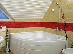 Fürdőszobafelújítás folyékonycsempével. - YouTube Diy Craft Projects, Diy Crafts, Corner Bathtub, Bathroom, House, Creative, Ideas, Washroom, Home