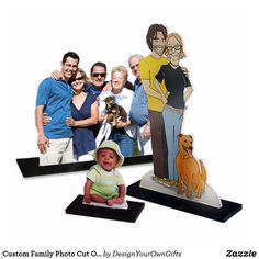 Custom Family Photo Cut Out - just click the orange Customize box to get started. Upload your family photo and create your own unique family photo cut out or family photo sculpture. Unique Family Photos, Family Pictures, How To Make Photo, Photo Cutout, Mini Photo, Photo Sculpture, Acrylic Photo, Great Gifts For Mom, Fun Gifts