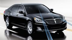 Hyundai Equus Exterior Image - saw this on the highway today, didn't know what it was, but it was impressive.