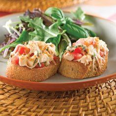 Bruschettas au dindon - Recettes - Cuisine et nutrition - Pratico Pratique