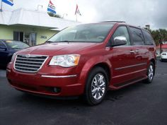 2009 Chrysler Town & Country, 98,110 miles, $15,995.