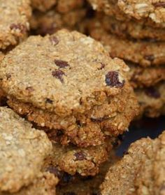 Peanut butter quinoa cookies (of course, replace the honey with a plant-based sweetener if you want.)