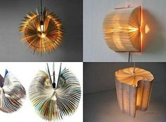 Book Lamp shades