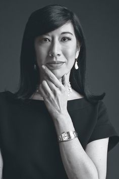 Andrea Jung, CEO Avon. This fab Princeton grad is one of Forbes top 50 women CEOs.
