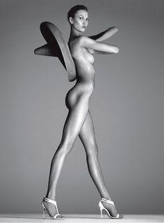 Karlie Kloss: Vogue Italia, December '11 (NSFW)