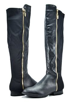 8462be5cd701b Amazon.com | DREAM PAIRS COLBY Women's Fashion Casual Over The Knee Pull On  Slouchy High Boots (WIDE CALF AVAILABLE) | Over-the-Knee