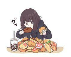 Menhera-chan.Animation 3 | Yabe-LINE貼圖代購 | 台灣No.1,最便宜高效率的代購網 Anime Neko, Cute Anime Chibi, Chica Anime Manga, Cute Anime Pics, Anime Girl Cute, Kawaii Anime Girl, I Love Anime, Anime Art Girl, Anime Amor