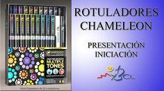 Rotuladores Chameleon, introducción, presentación de la gama, características - YouTube