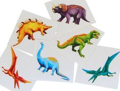 Fun Express Cool Dinosaur Tattoos (12 Dozen) A total of 144 Tattoos (2)