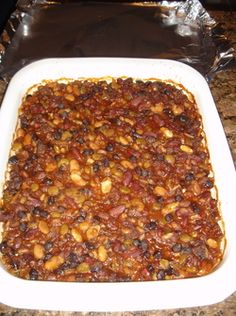 The Best Baked Bean Recipe ever