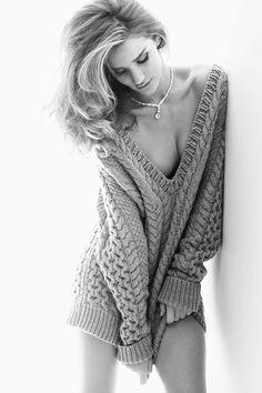 Rosie Huntington-Whiteley for Vogue Germany 2011