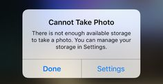 "Avoid Apple's pesky ""Storage Almost Full"" warning by following these simple steps."