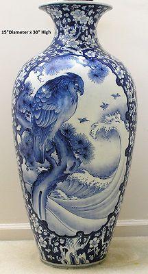 Oriental Floor Vases On Pinterest Floor Vases Oriental Decor And Blue Green