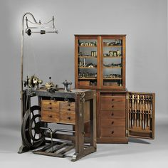 "An ornamental turning lathe was primarily a ""Gentleman's"" turning tool which could provide a lifetime education for the lucky owner. This remarkable early 19th century machine and its many accessories allowed an educated owner to perform complex tasks on exotic woods and materials like ebony, teak, rosewood and ivory."