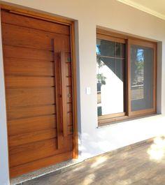 House Front Design, Small House Design, Modern House Design, Home Room Design, Home Design Decor, Home Interior Design, Modern Entrance Door, Main Entrance Door Design, Window Design