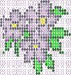 Free beadwork pattern - Bell Flower