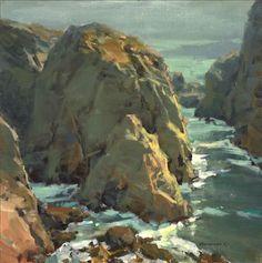 Scott Christensen - love how he paints rocks