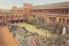 Imperial Hotel Booklet inside page 2 left - Garden Court