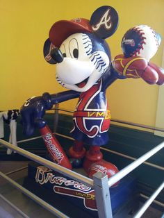 Did you know that Disney World's ESPN Sports Complex is the home for the Atlanta Braves Spring training? ~ Hooked on Travel