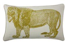 'Lion Resort Pillow by Thomaspaul. @2Modern'