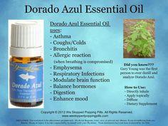 Dorado Azul Essential Oils Health Benefits!