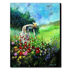 Pintado a mano de pintura de aceite personas 1211-PE0062 - EUR € 69.99