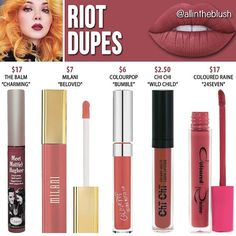 Dupes for Riot by Limecrime