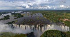 Les plus belles cascades du Monde - Chutes Victoria - Zambie - Afrique