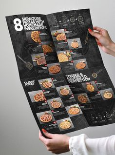 Brand Identity, Food Photography, Menu, Packaging, and Interior Design for Urban Slice Pizza.
