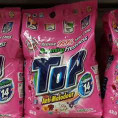 Top Blooming Freshness Anti-Malodour Laundry Detergent 4kg