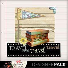 Travel Photobook 11 12x12