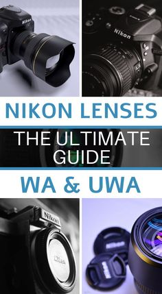 Here is our full review of the best Nikon wide-angle lenses for both DSLR and mirrorless cameras. Best Camera Lenses, Nikon Lenses, Photography Basics, Photography Courses, Learn Photography, Best Macro Lens, Angles, Full Frame, Photography Tips