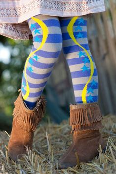 leggings designed by a kid--and they're actually really cool!