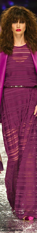 Aigner at Milan Fashion Week Spring 2017 - Runway Photos Fashion Mag, Editorial Fashion, Fashion Beauty, Fashion Show, Runway Fashion, Womens Fashion, Women's Dresses, Elegant Dresses, Purple Fashion