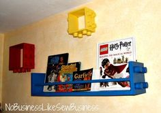 Lego Shelves for eddies room