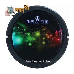 Newest Coming WIFI Smartphone APP Control Multifunction Robot Vacuum Cleaner For Home With Water Tank, 2600MAH Lithium battery