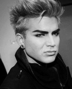 that little Elvis snarl! Adam Lambert *__* UNF | Source: unknown