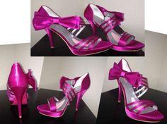 Paris Hilton Nila Fuschia Wedding Shoes $68 I have these and LOVE 'EM!!