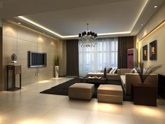 The Argument About Best Apartment Living Room Layout and Decorating Tricks - homeuntold House Ceiling Design, Apartment Living Room Layout, Living Room Design Modern, Apartment Living, Luxury Living Room, Ceiling Design Living Room, Living Room Plan, Room Layout, Living Room Furniture Layout
