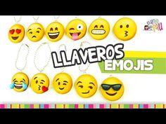 FÁCIL✔ EMOJIS Keychain / LLAVEROS de Emojis - YouTube