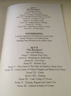 100 PLAYBILL theater programs for wedding birthday or by itcoa