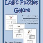 Improve+critical+thinking+skills+and+reading+comprehension+with+this+set+of+40+full+page+fun+logic+puzzles+for+elementary+students.%0A%0AStudents+use+t...
