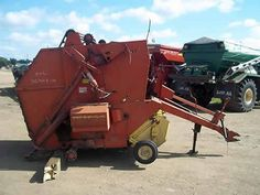 New Holland 846 hay baler salvaged for used parts. Millions of new, rebuilt and used parts in our 7 huge salvage yards. For parts call 877-530-4430 or http://www.TractorPartsASAP.com