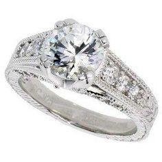 Cubic Zirconia Engagement Ring 9