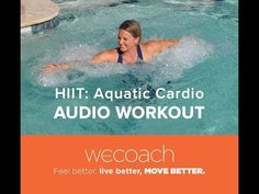 Upper Body AQUA CIRCUIT TRAINING#1 - WECOACH - YouTube