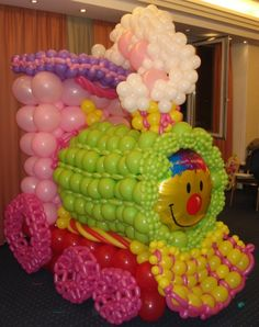 Balloon train by P.Kaskani cba