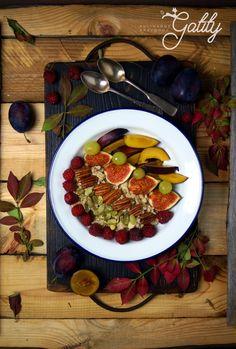 Kulinarne przygody Gatity - przepisy pełne smaku: Kokosowa jesienna owsianka