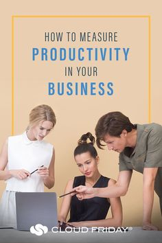 Have you ever wondered how to actually measure productivity in your business? Measuring productivity is a key part of accomplishing goals for your business. When you measure progress of a project it can help you be more productive. When you measure productivity it will help you connect with employees, show you how to be more efficient at work, and help you keep motivated! #measureproductivity #beproductive #productivity