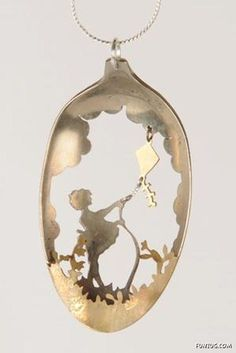 Creative Jewelry From Antique Spoons